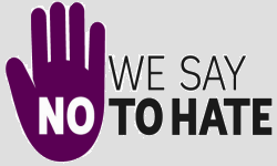 We say No to Hate