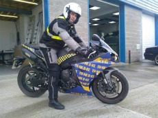 The new R1 bike will be used this summer to engage with local riders