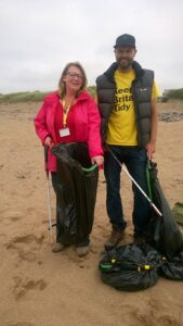 bude beach clean 2