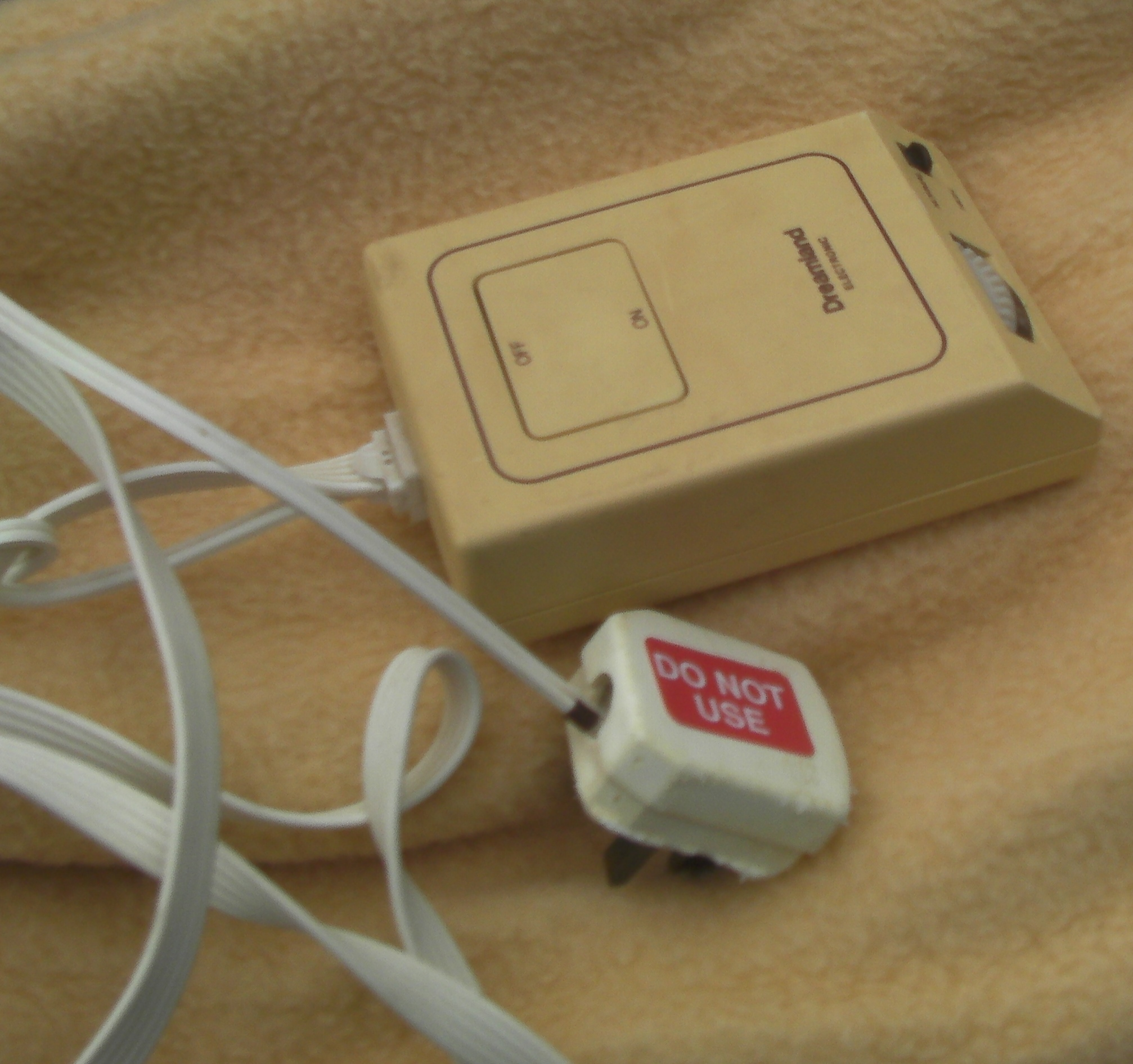 how to find a safety electric blanket