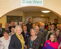 Cove Ward: one year on, no one treated out of county